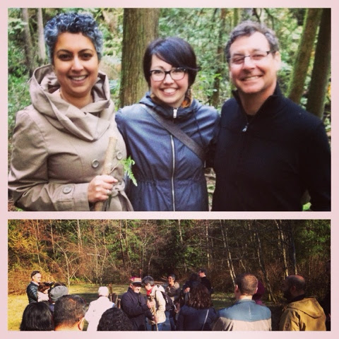 Choosing Walking Sticks & Saying Vows in the Forest