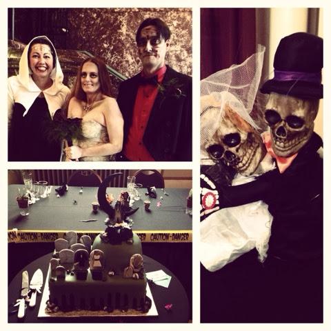 Bobbi's First Ever Halloween Wedding!