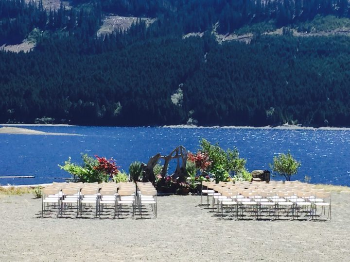Eco-Resort wedding at Strathcona Park Lodge