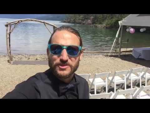 Destination (Camping) Wedding at Harrison Lake, BC.
