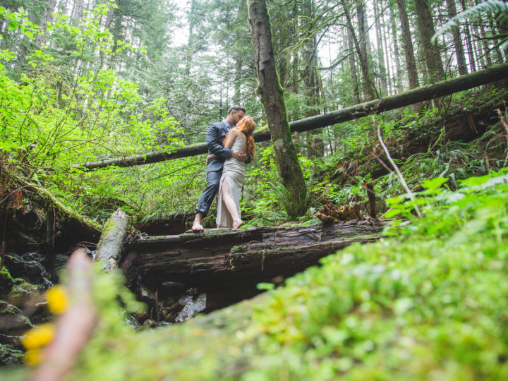 North Vancouver Elopement with Shawn & Erica Miller