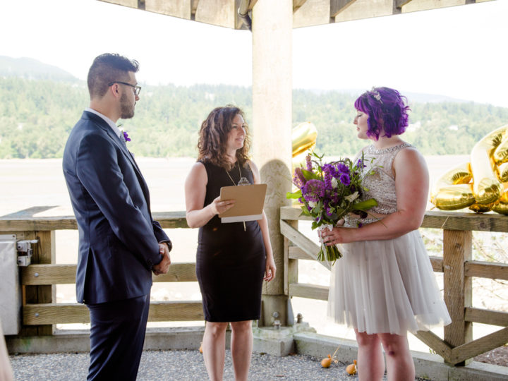 Great outdoor wedding options in the rain: Rocky Point Park