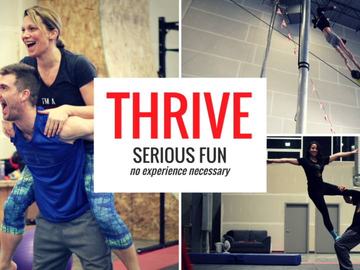 You're Invited to… THRIVE: Serious Fun