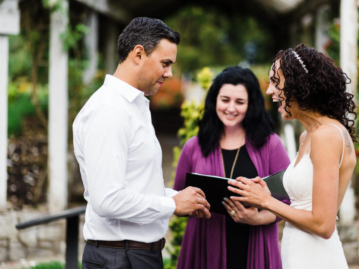 Officiant Q & A with Erika