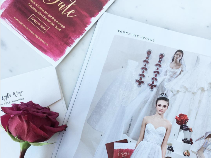 5 Wedding Invitation Trends for 2019
