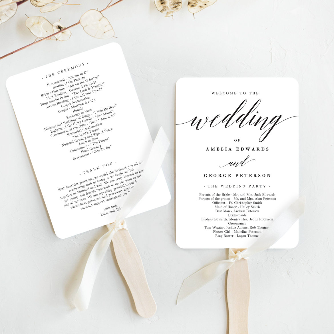 Do You Need Wedding Ceremony Programs Young Hip Married
