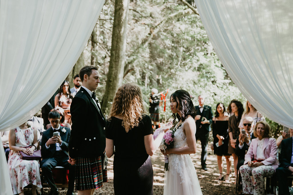 Couple getting married