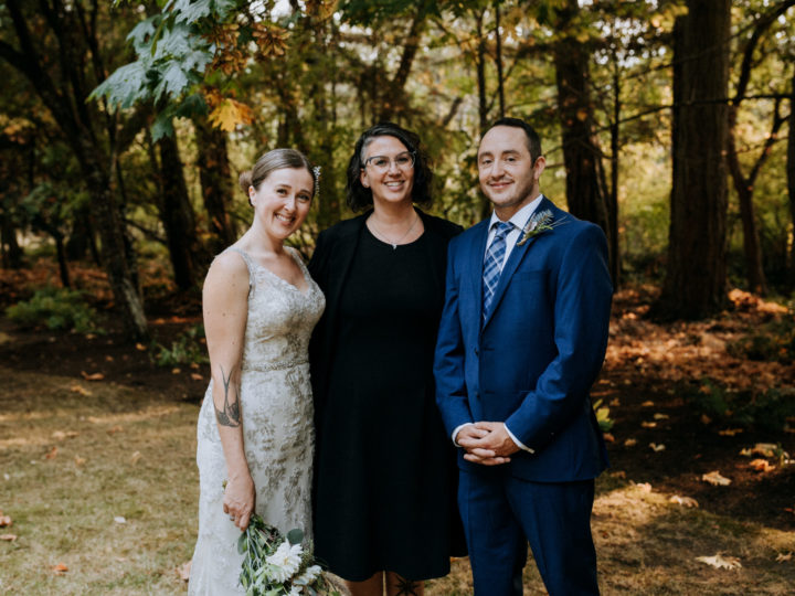 Introducing Victoria Officiant Chris-Ann