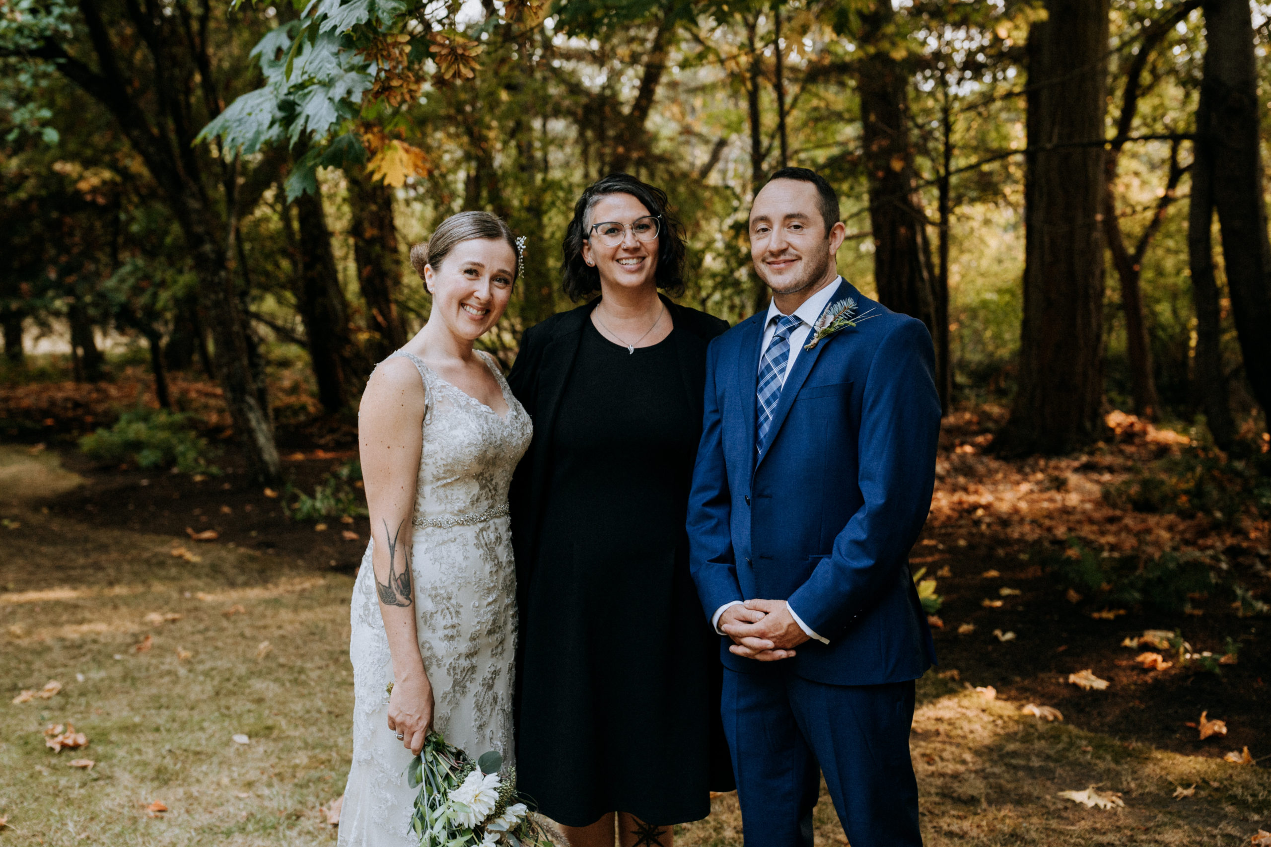 Vancouver Island elopement and photography package with Young Hip & Married officiant