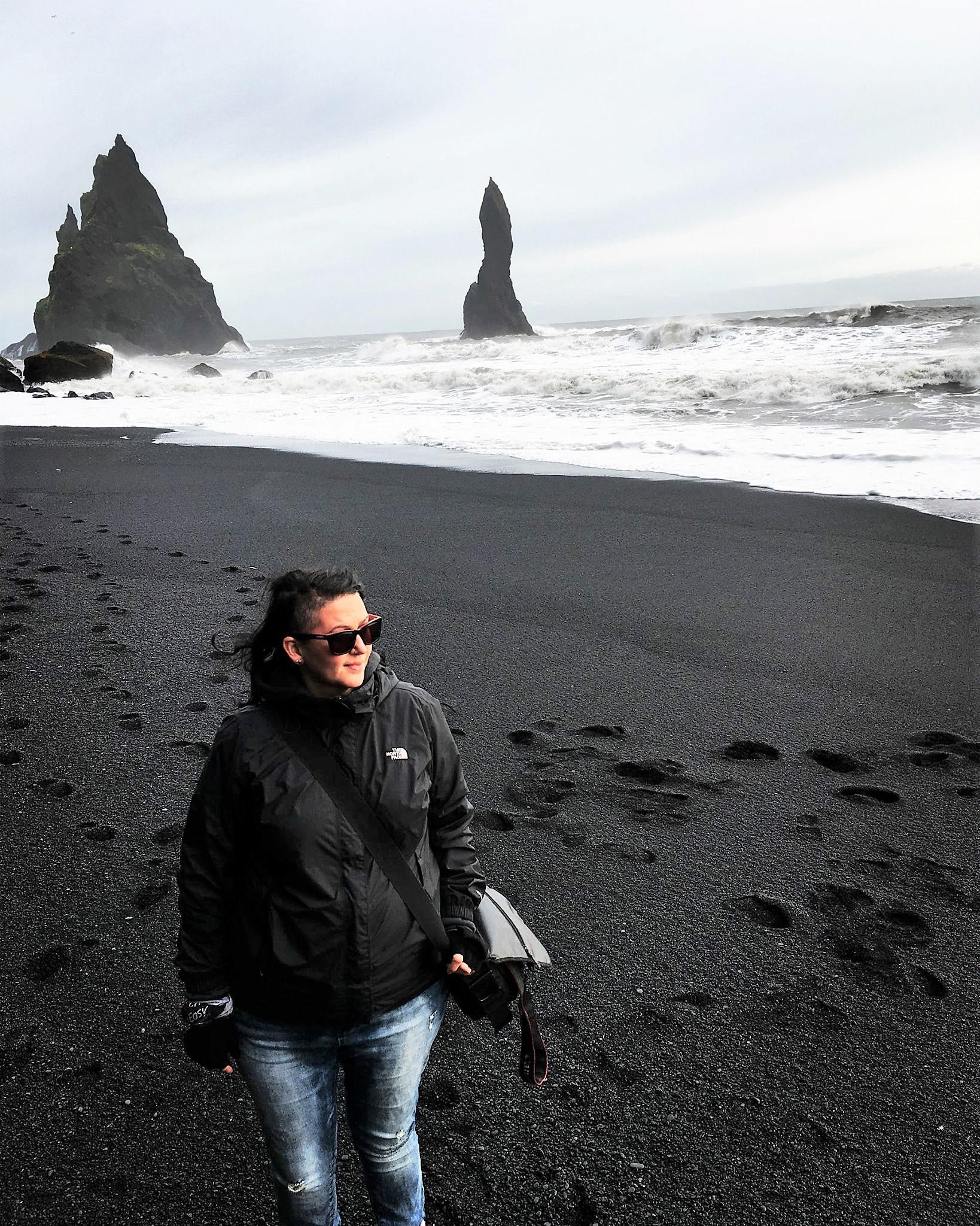 Officiant Chris-Ann in Iceland