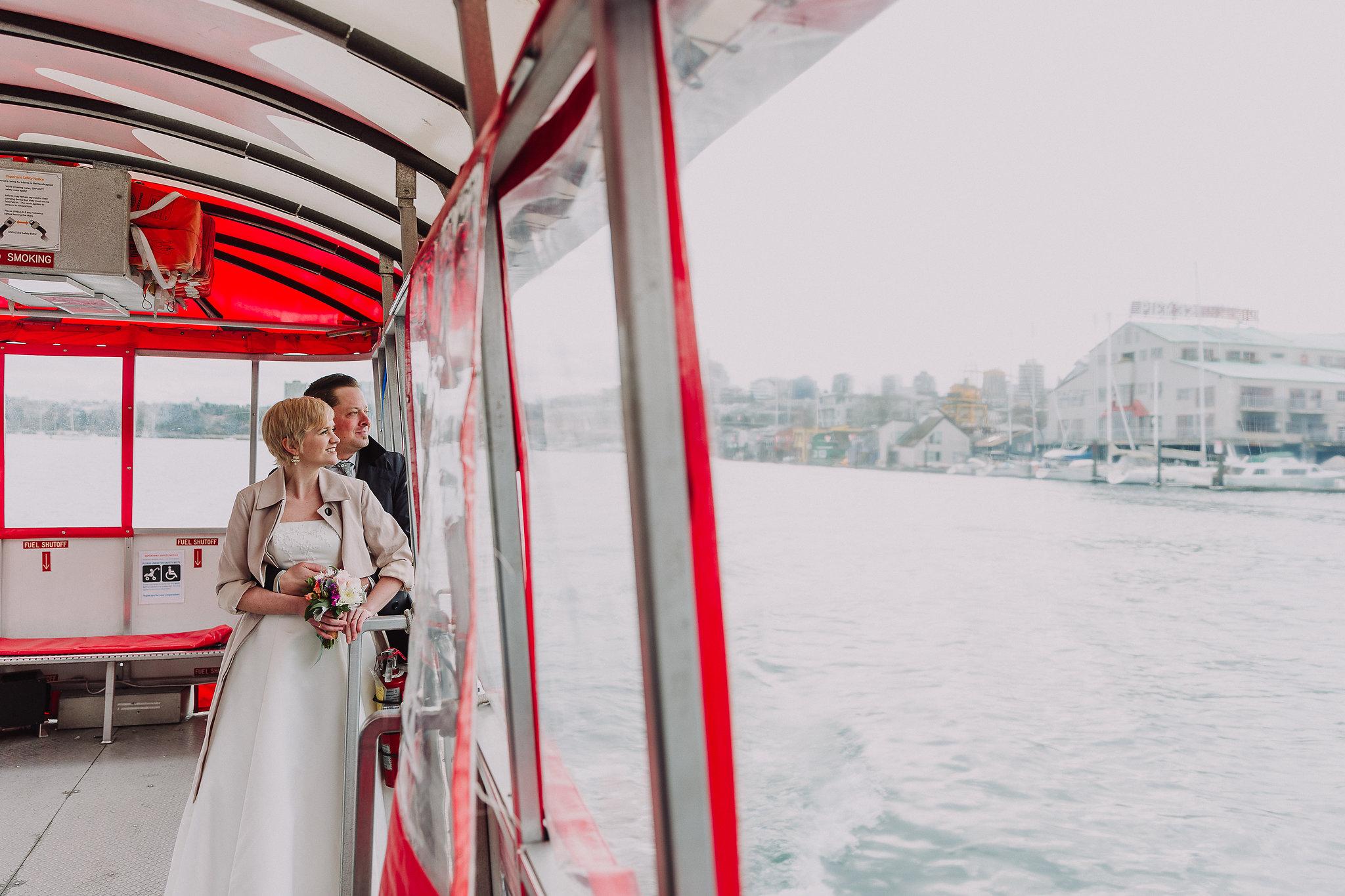 Vancouver Aquabus elopement