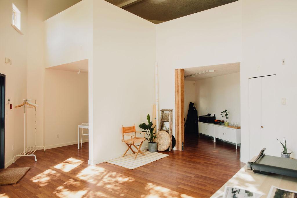 Indoor elopement in Victoria at William Street Studio