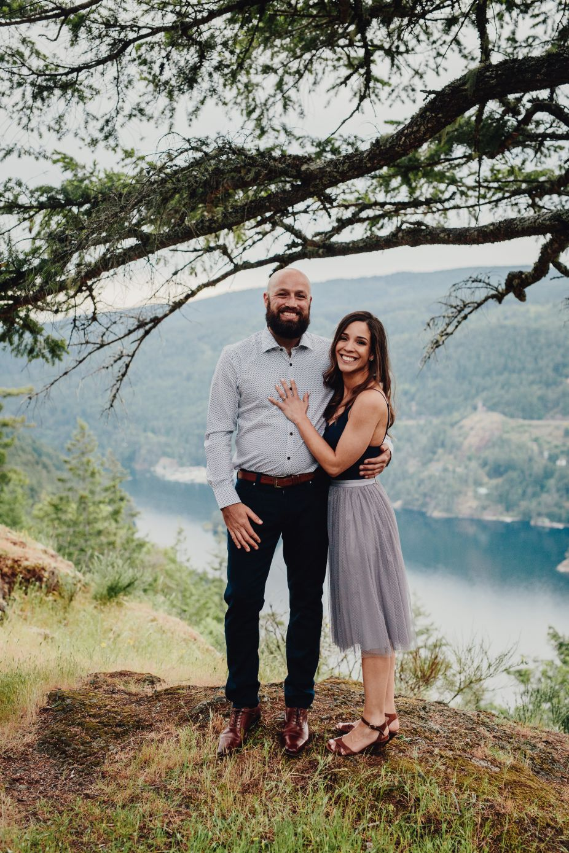 Vancouver Island elopement at Gowlland Tod Park
