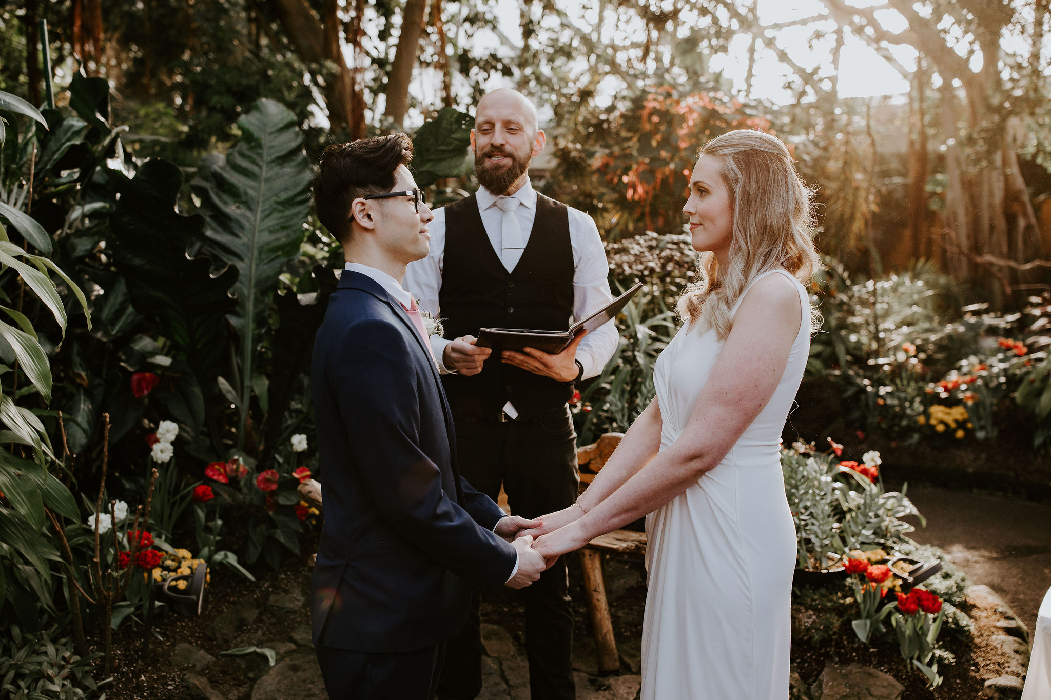 Bloedel Conservatory wedding with Young Hip & Married