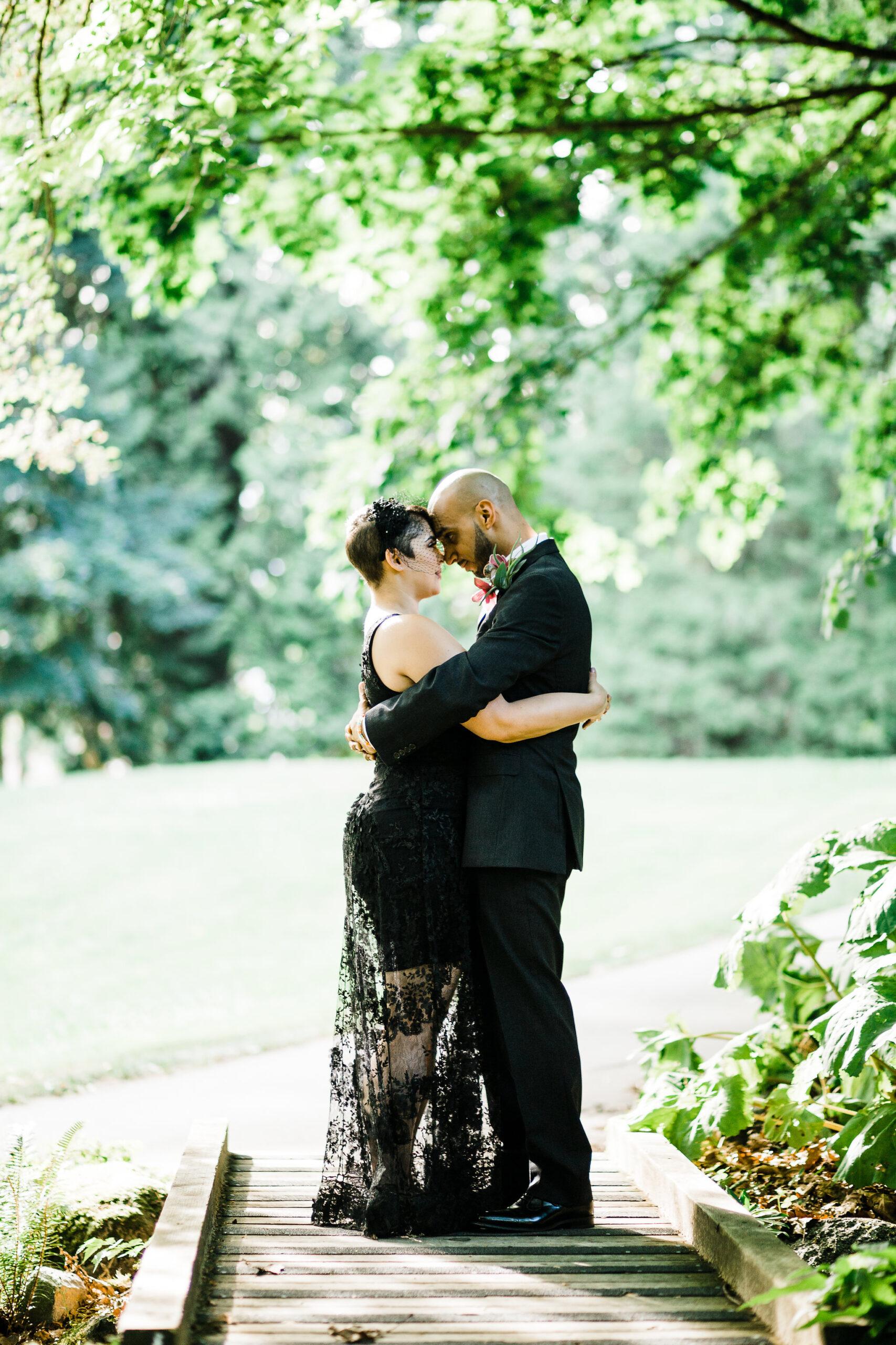 Vancouver elopement at Carisbrooke Park