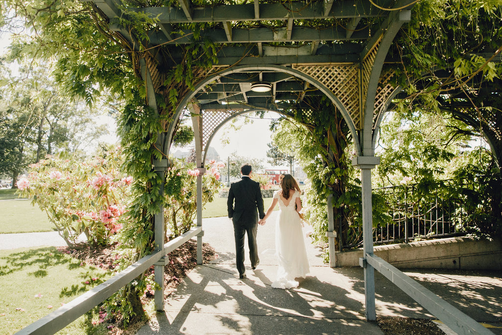 Elopement at the Empress Hotel in Victoria, BC