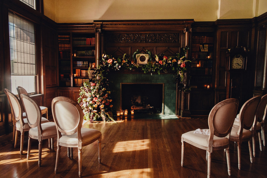 Small Wedding at the Library Room at the Empress Hotel in Victoria, BC