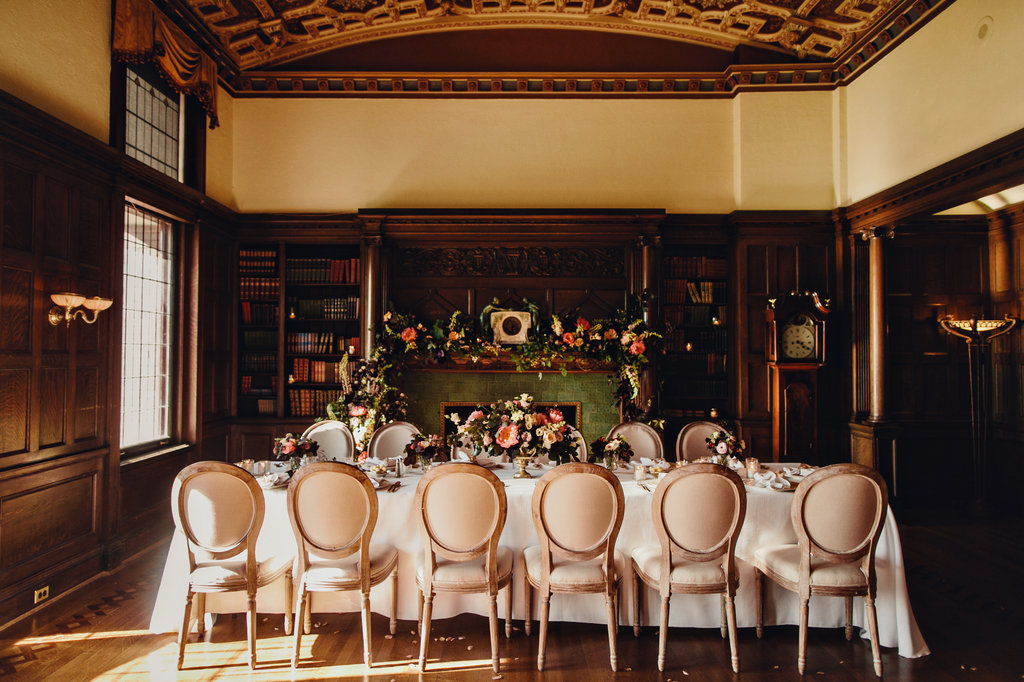 Elopement Wedding at the Library Room at the Empress Hotel in Victoria, BC