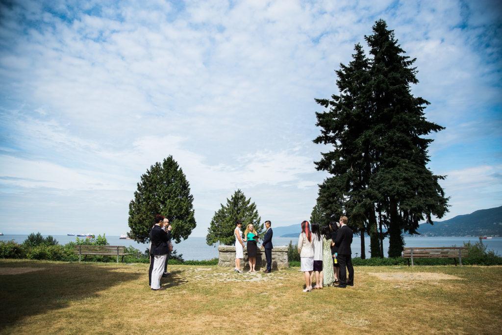 Ferguson Point wedding