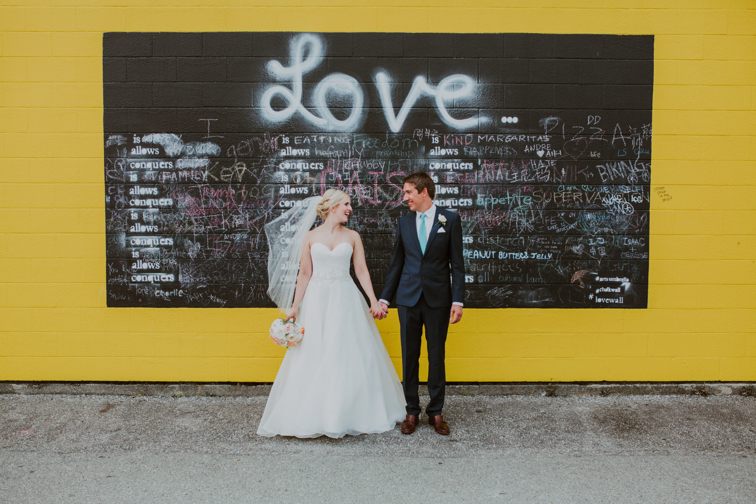Granville Island elopement with Young Hip & Married Vancouver officiants