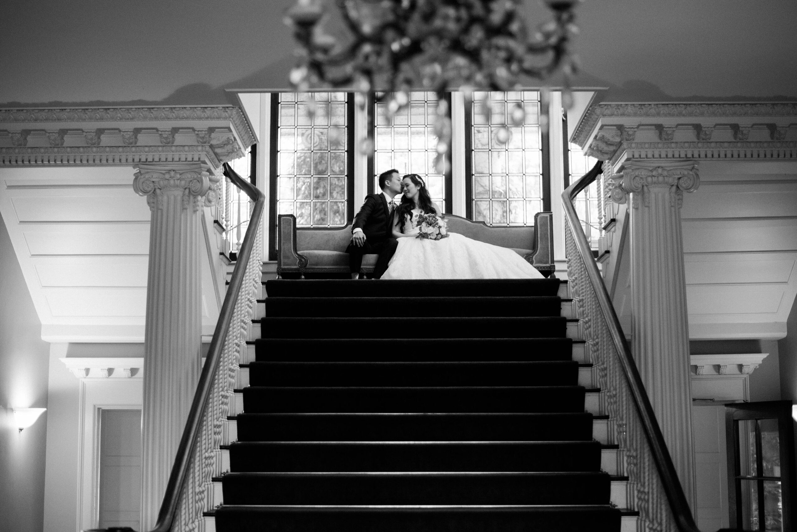 Hycroft Manor wedding in Vancouver