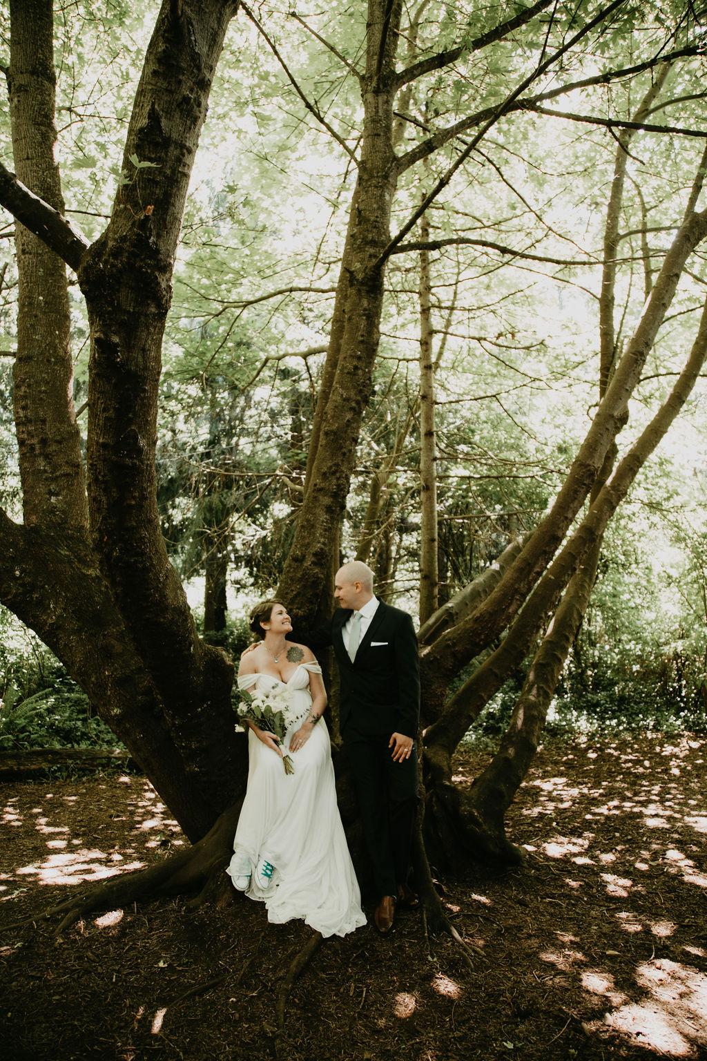 Saxe Point Park elopement in Victoria