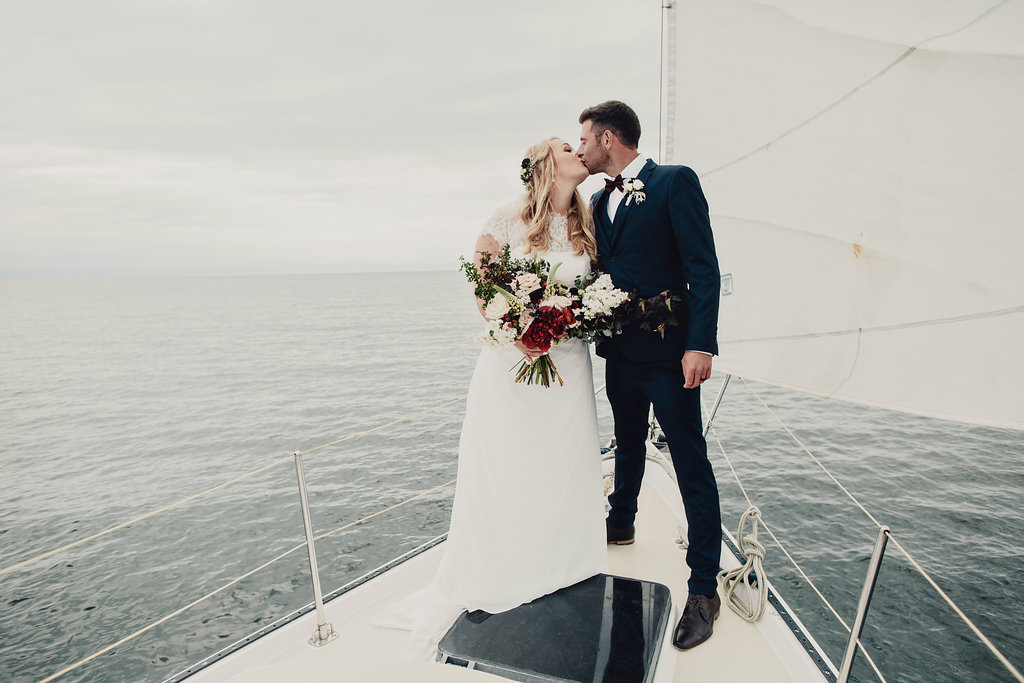 Get married on a boat!