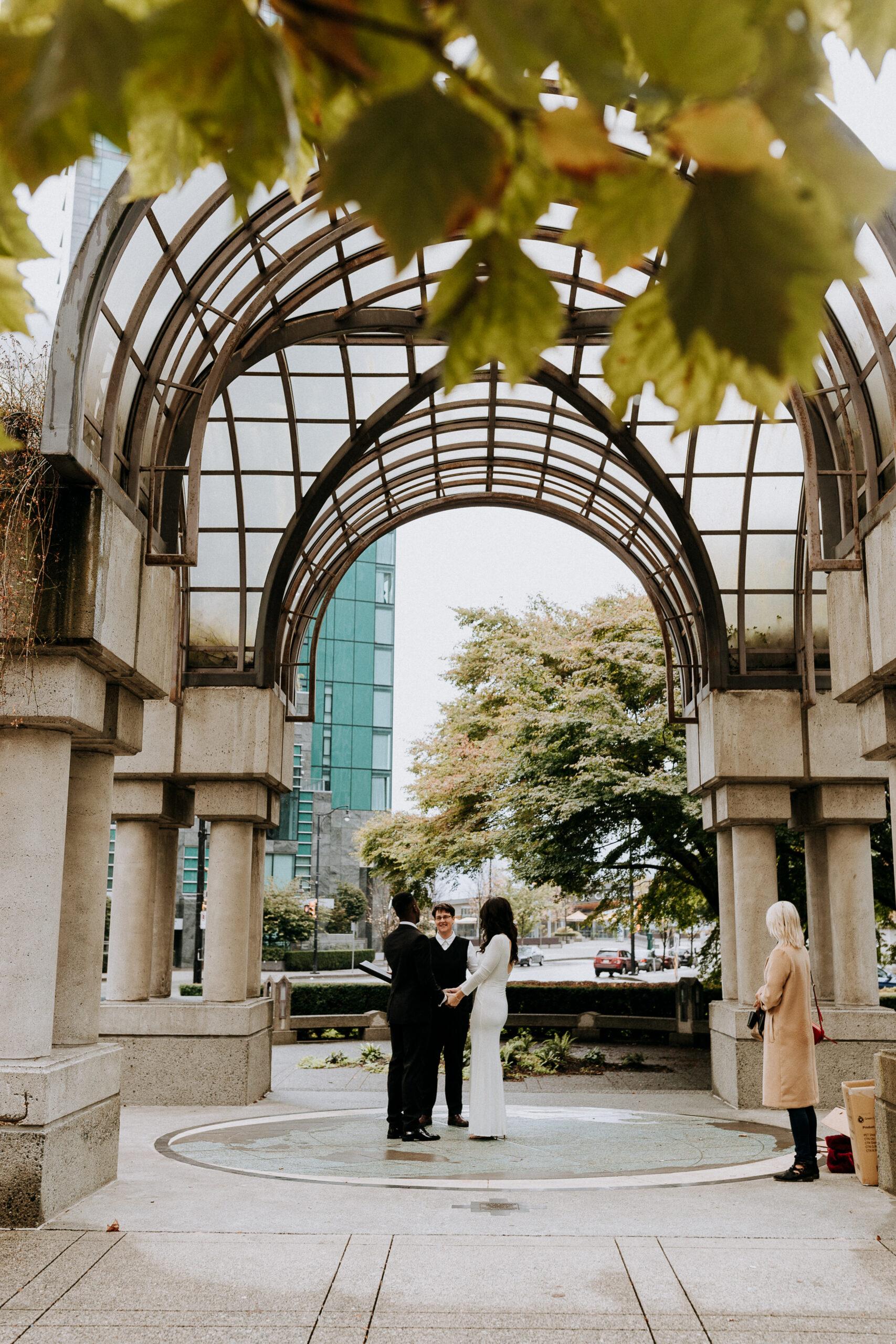 Portal Park Vancouver wedding