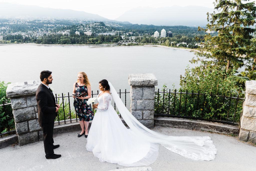 Prospect Point Vancouver wedding