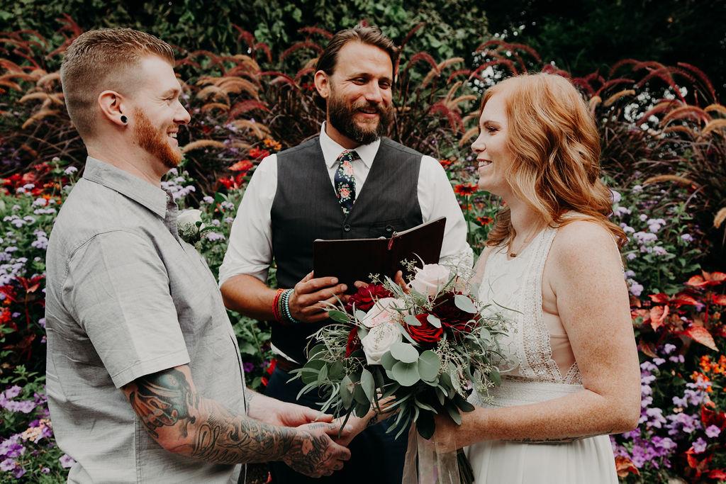 Queen Elizabeth Park elopement