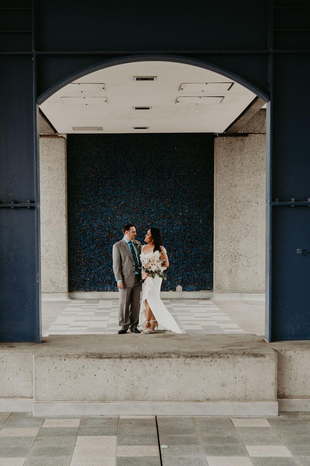 Vancouver wedding at SFU campus