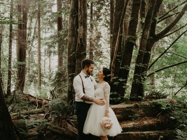 Where to Elope in Vancouver: City Elopements