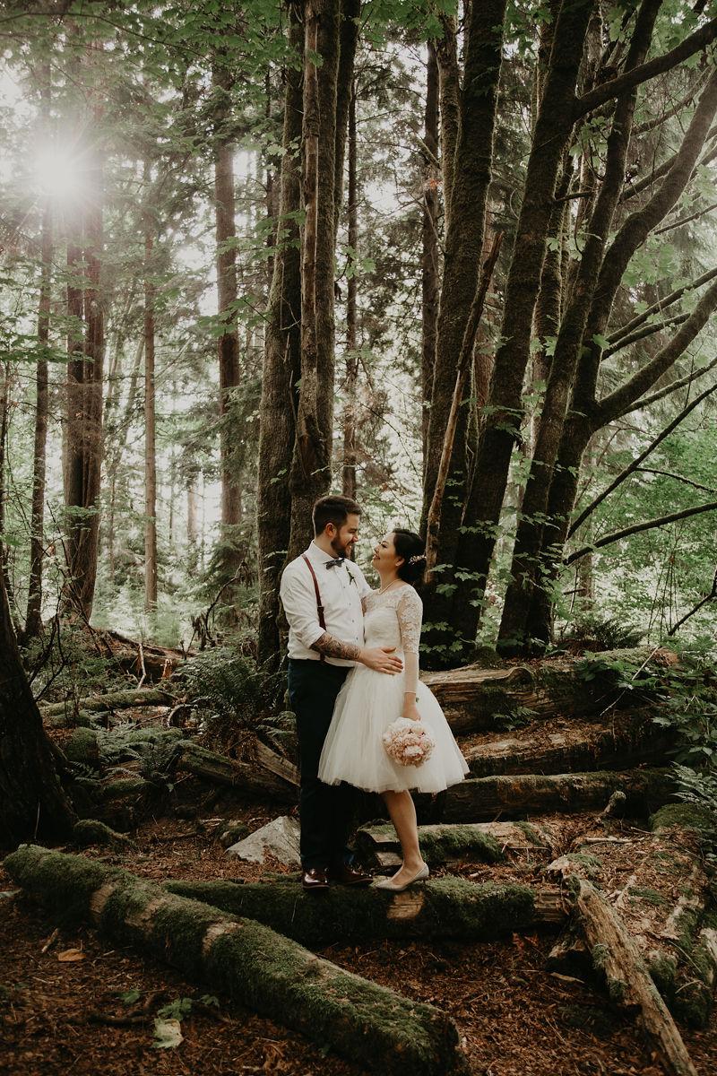 Vancouver elopement in Stanley Park