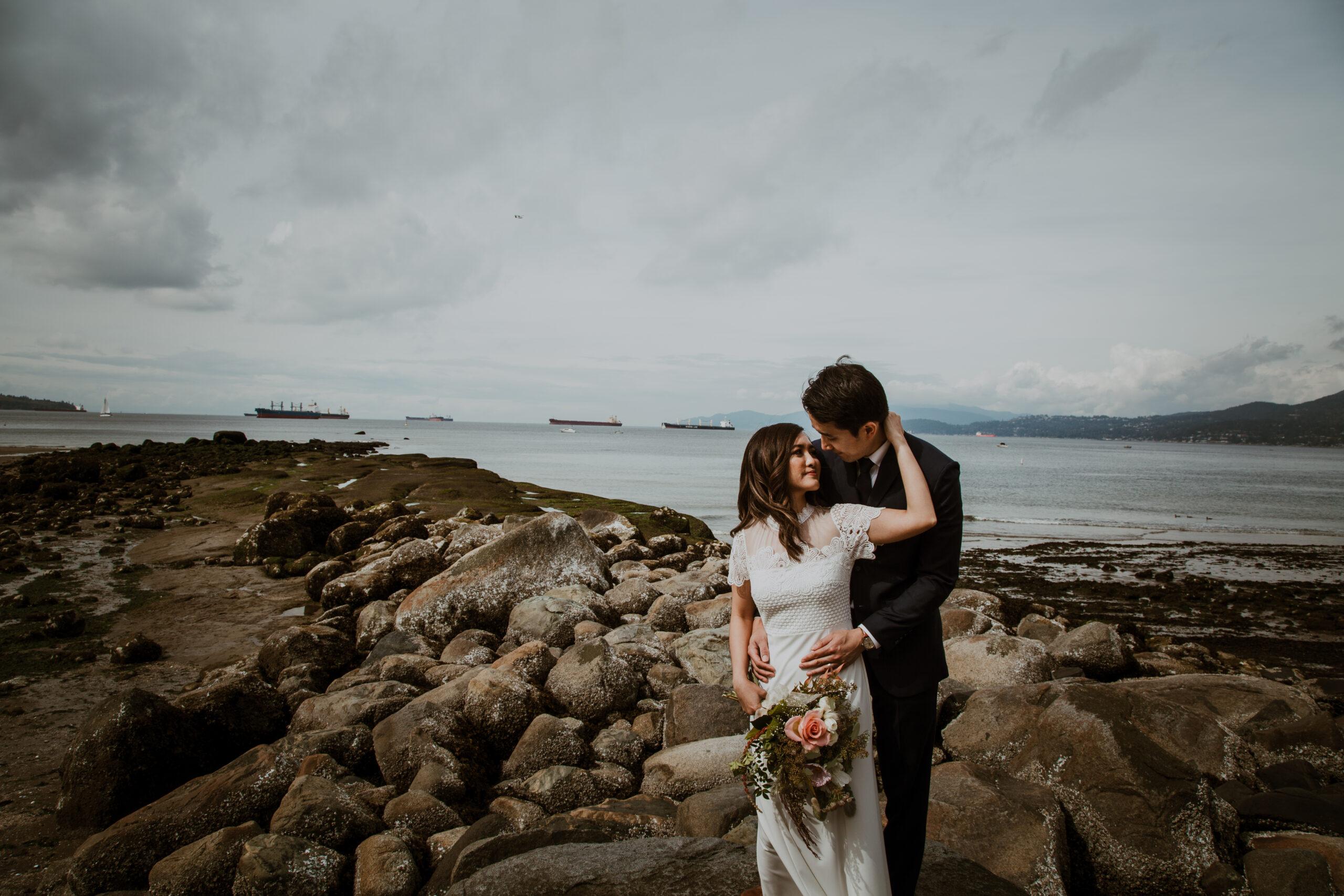 Third Beach elopement