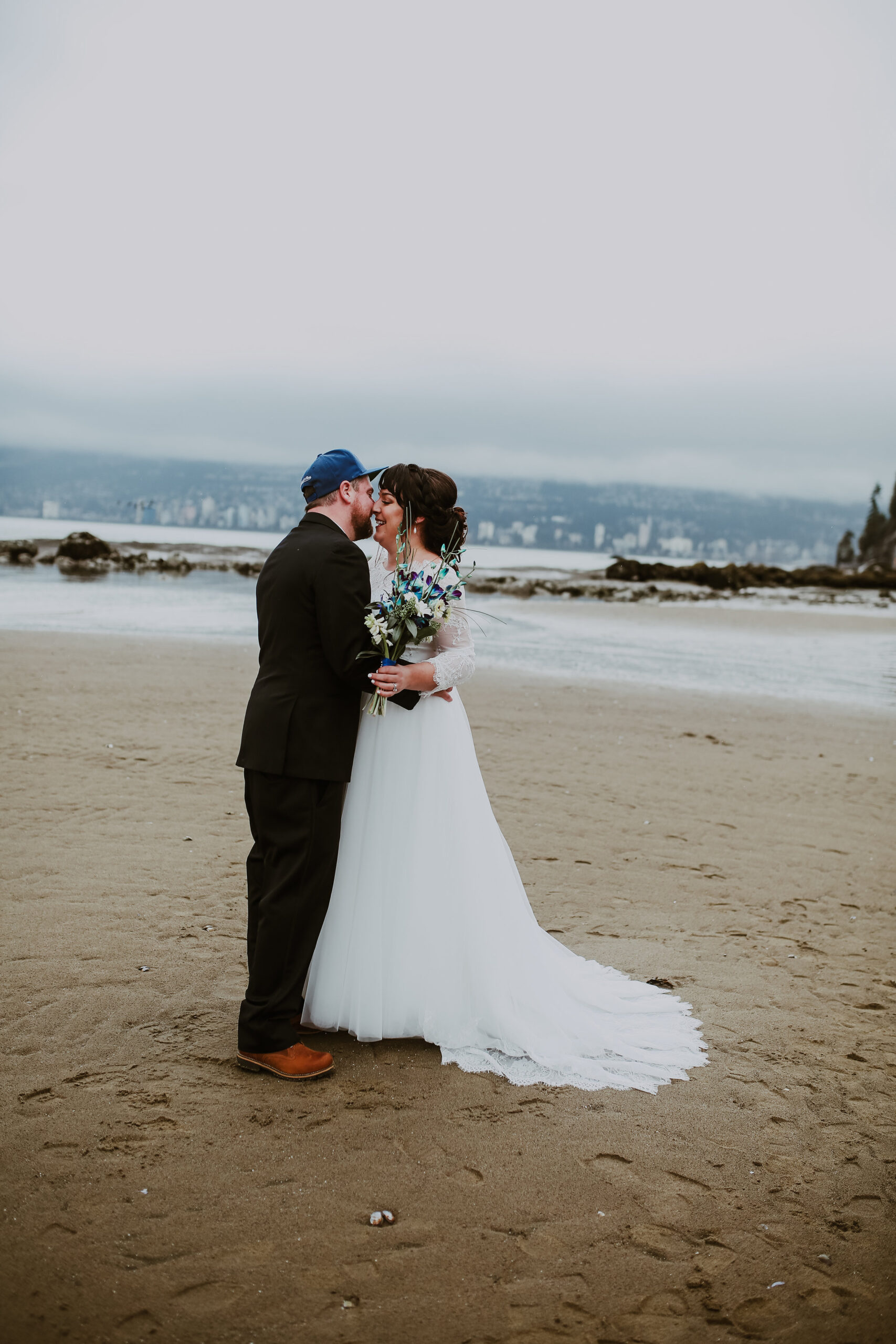 Vancouver elopement at Third Beach