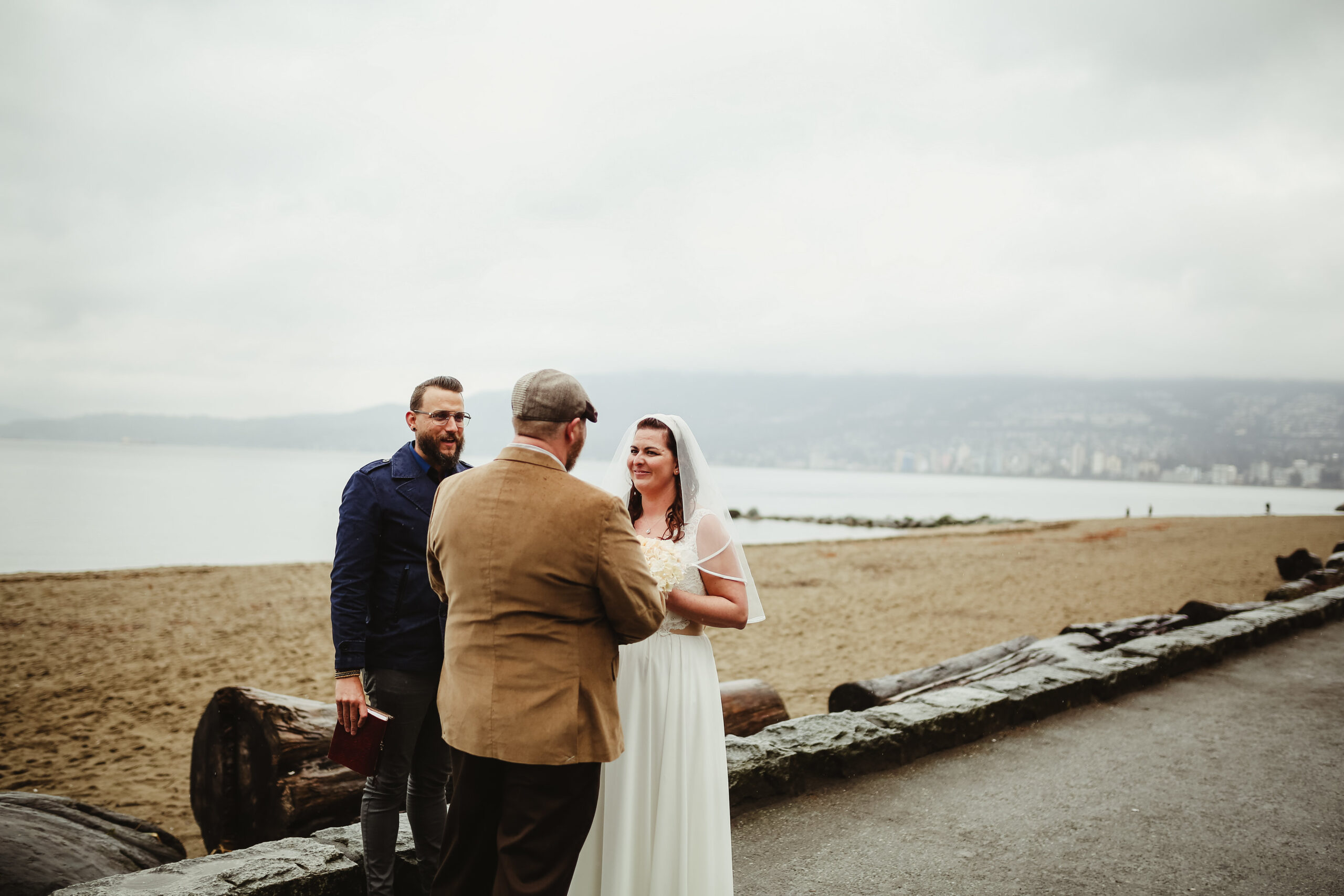 Third Beach wedding with Young Hip & Married