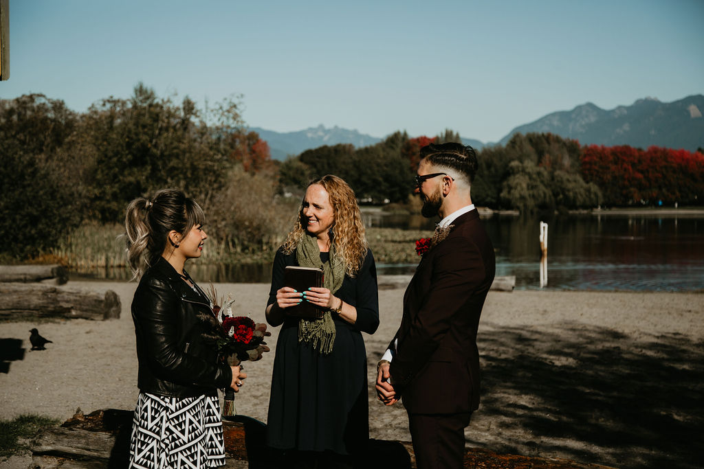 Trout Lake Park elopement with Young Hip & Married Vancouver officiants