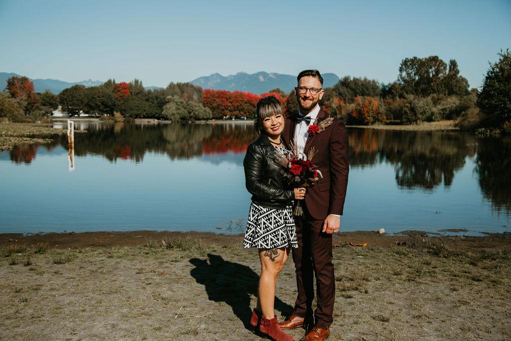 Trout Lake Park elopement
