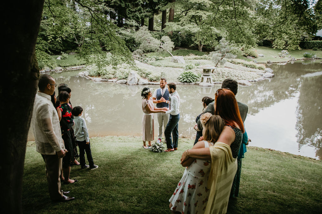 UBC elopement with Young Hip & Married