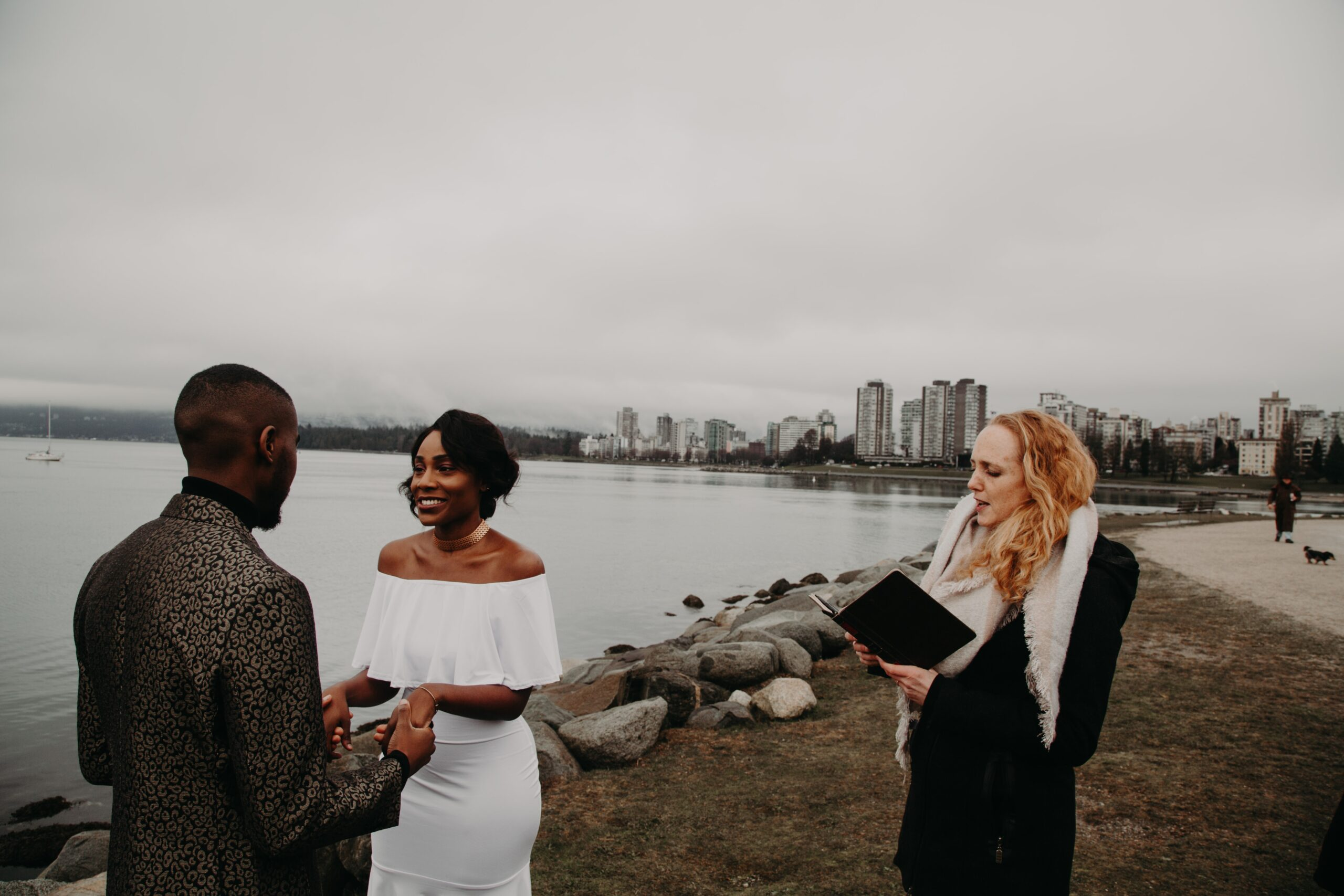 Vanier Park elopement with Young Hip & Married