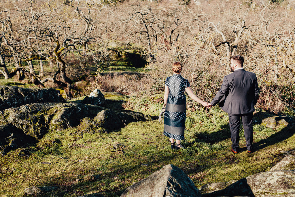 Summit Park wedding on Vancouver Island