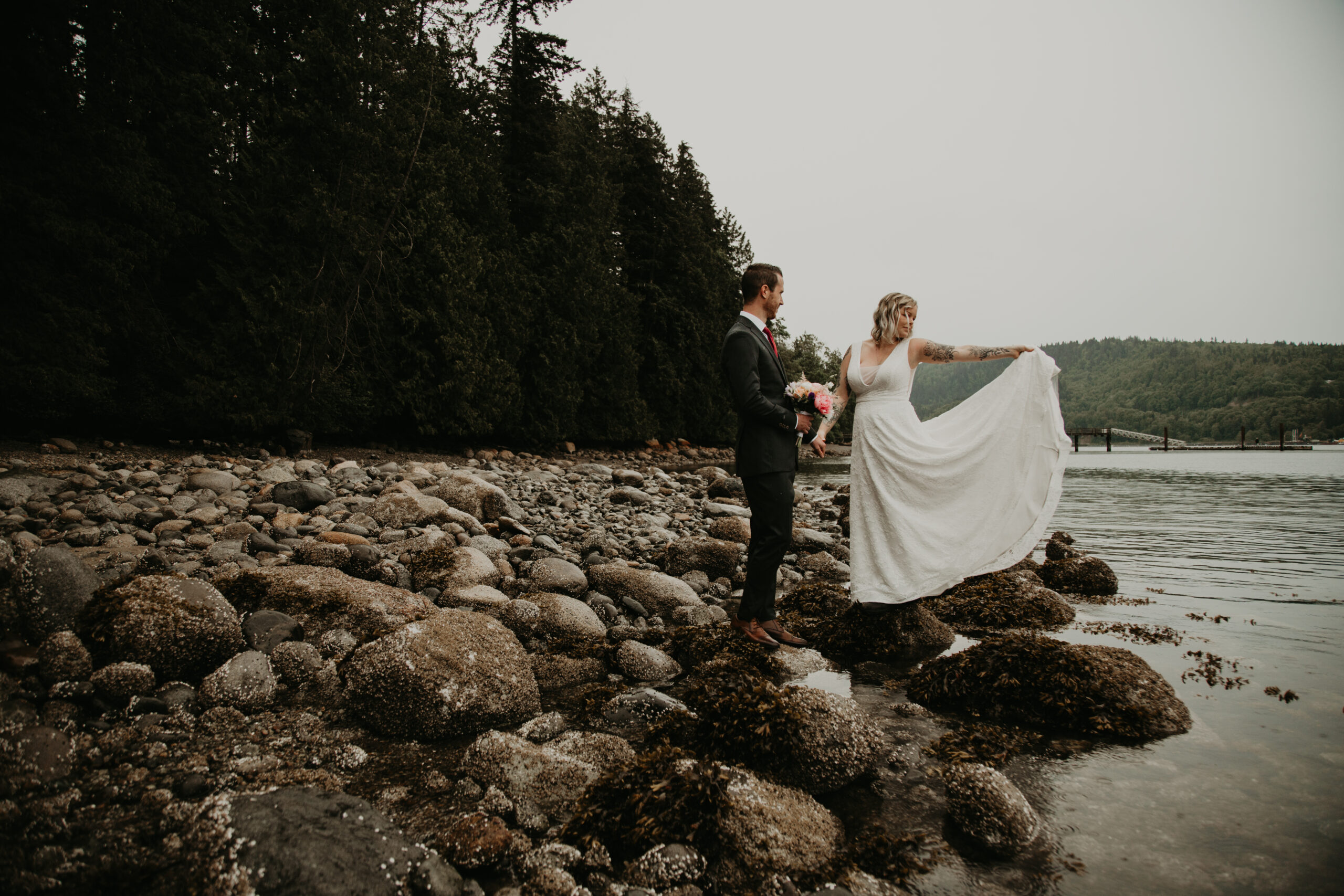 North Vancouver elopement at Cates Park