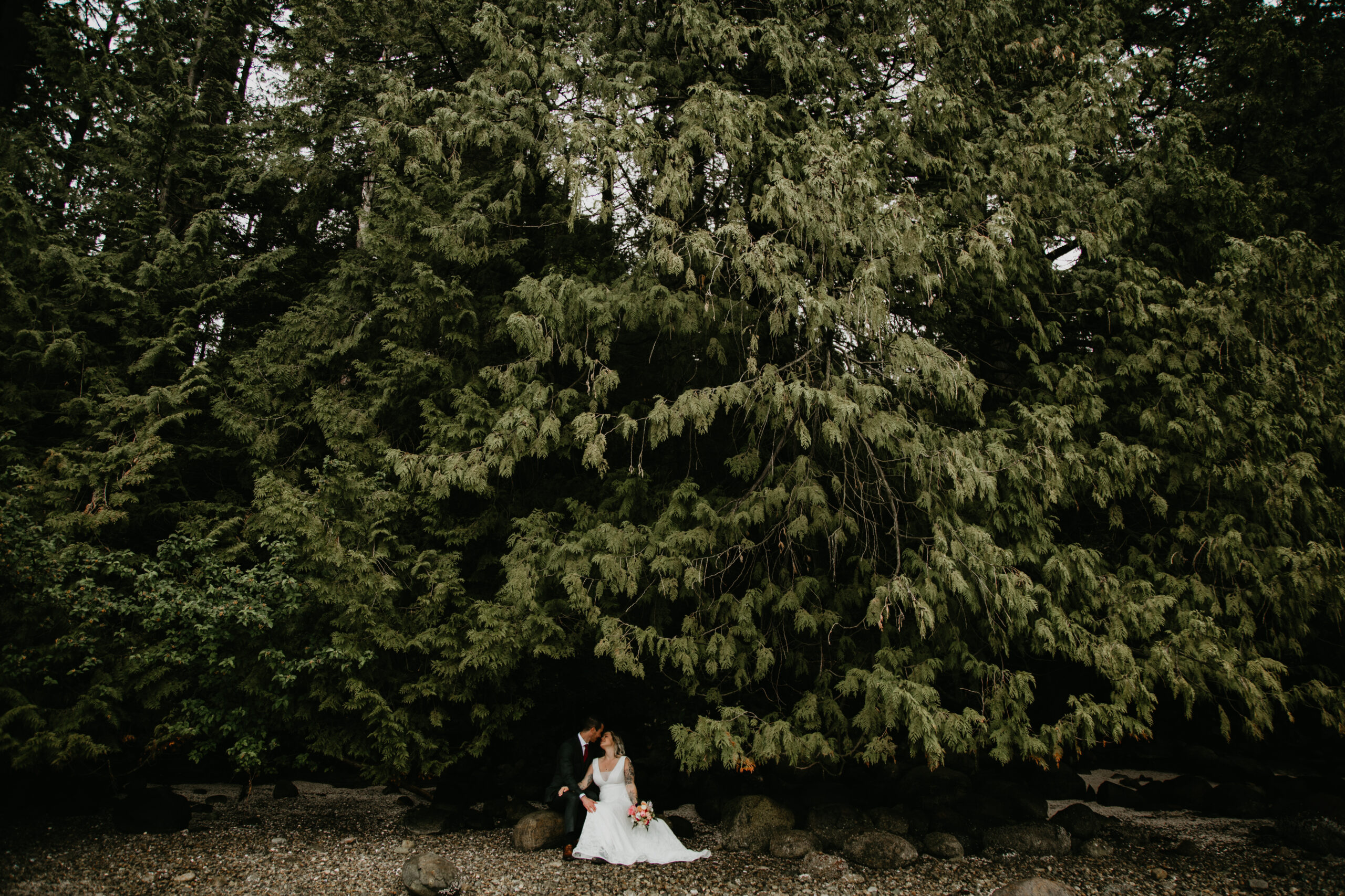 Wedding at Cates Park, North Vancouver
