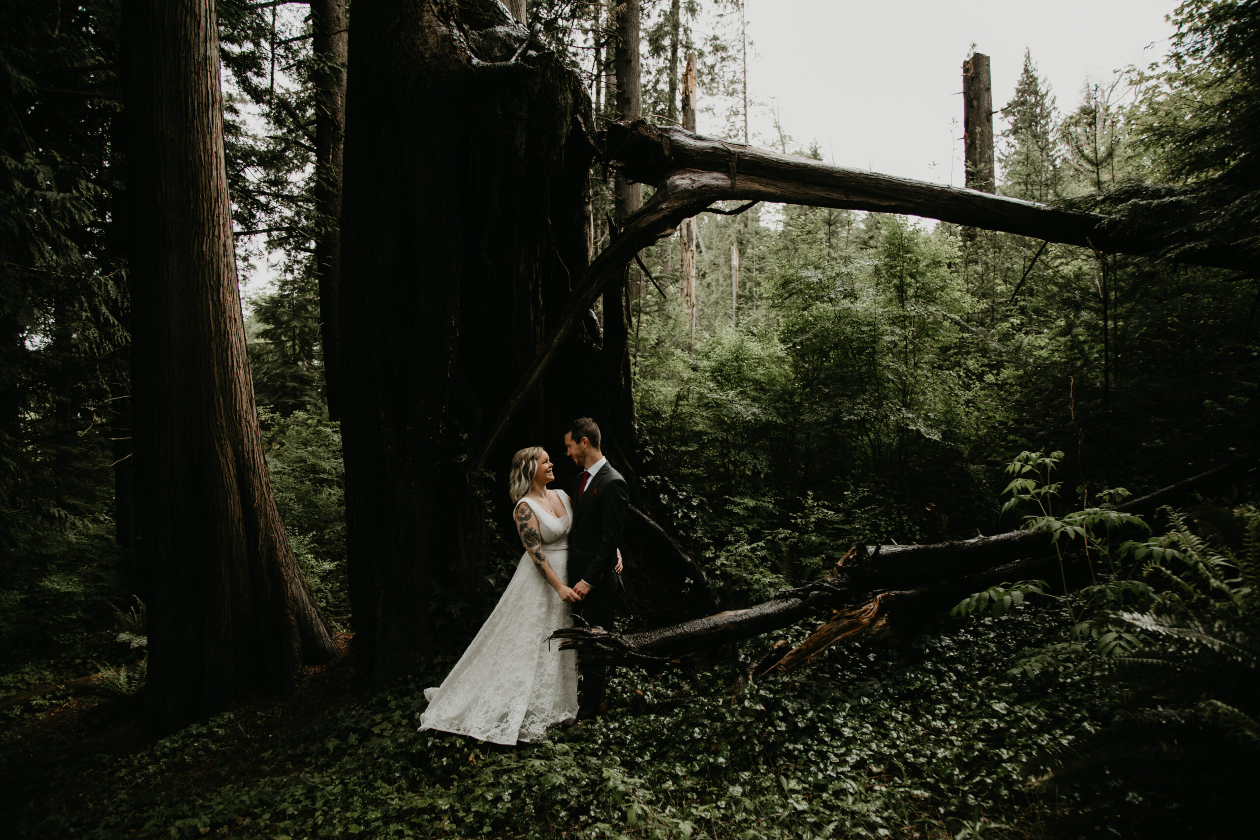 Elope at Cates Park with Young Hip & Married Vancouver officiants and marriage commissioners
