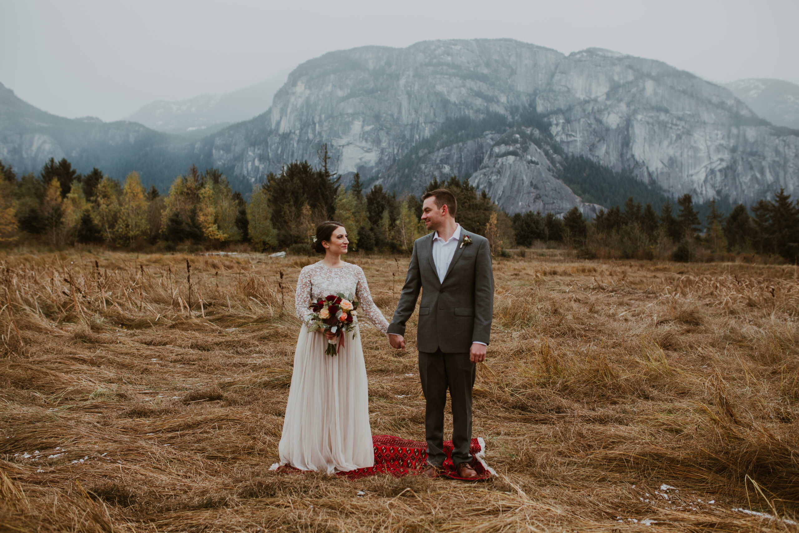 Vancouver elopement in Squamish