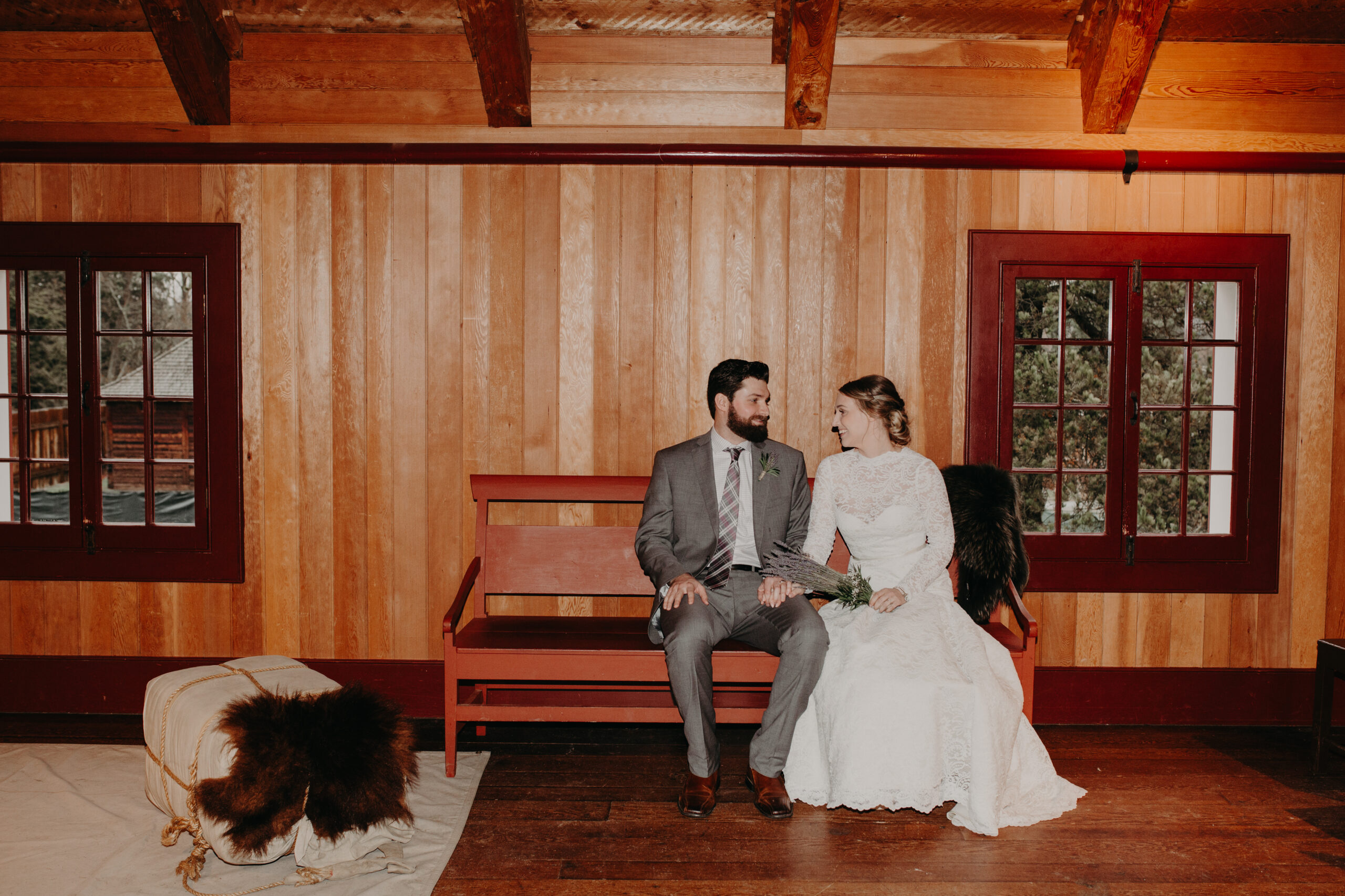 Wedding at Fort Langley National Historic Site of Canada