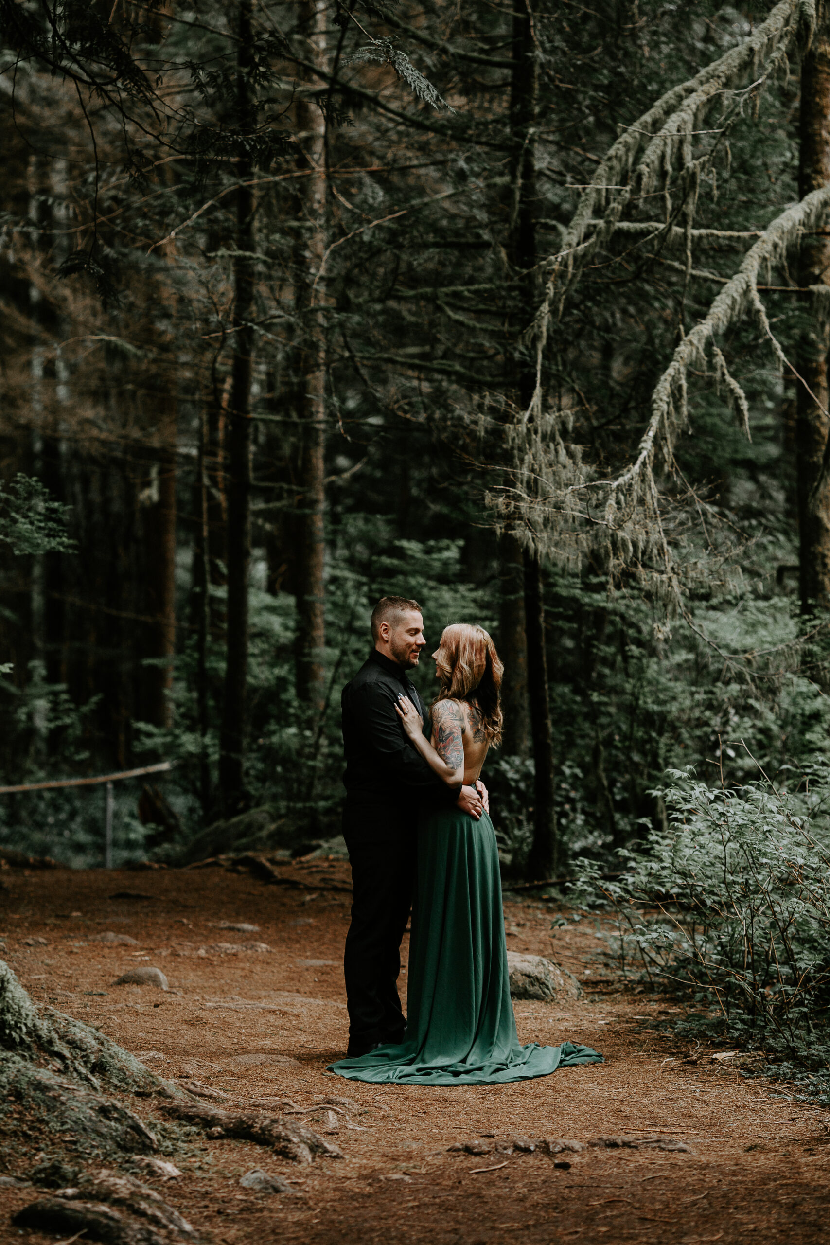Lynn Canyon wedding