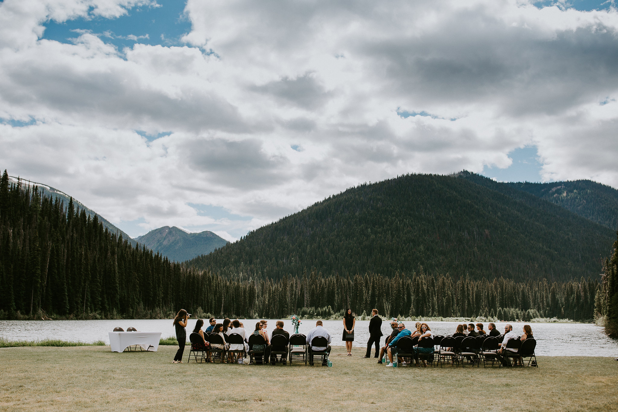 Micro wedding at Manning Park