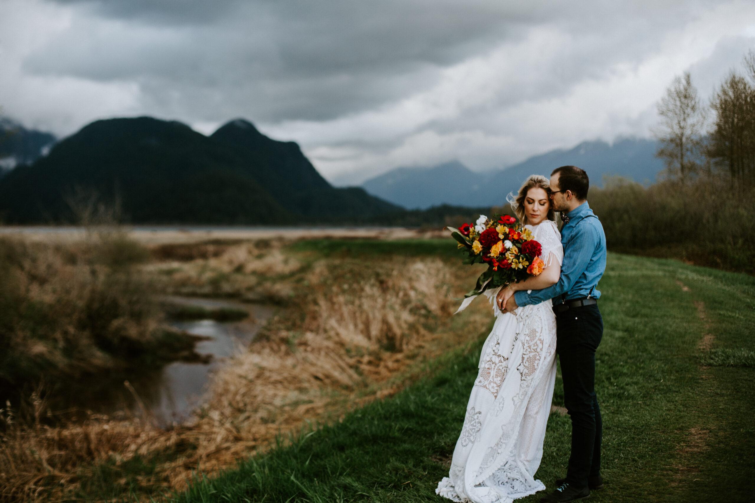 Pitt Lake elopement in Vancouver