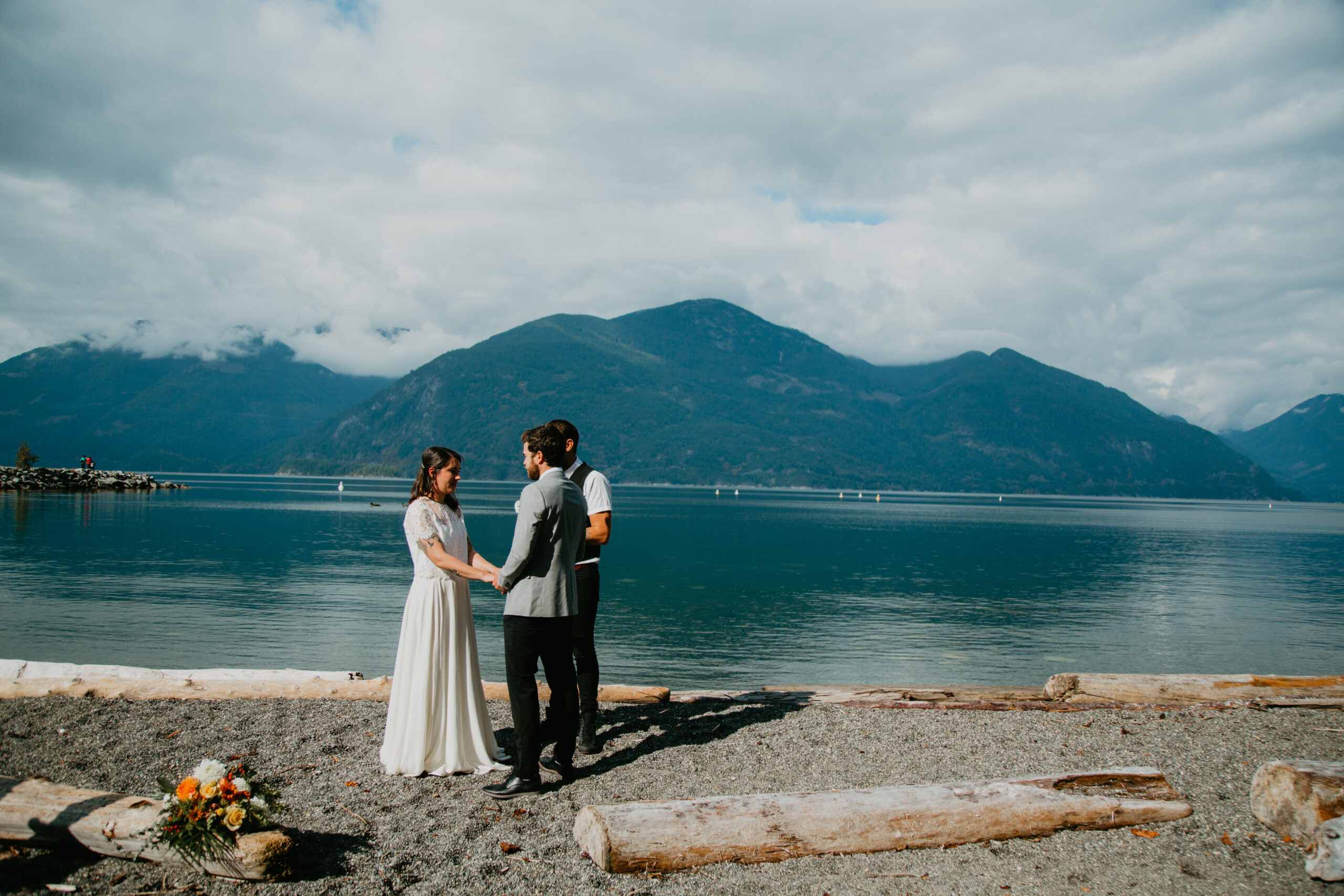 Porteau Cove elopement